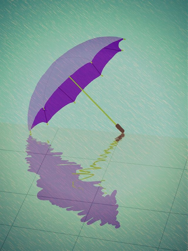 umbrella drawing