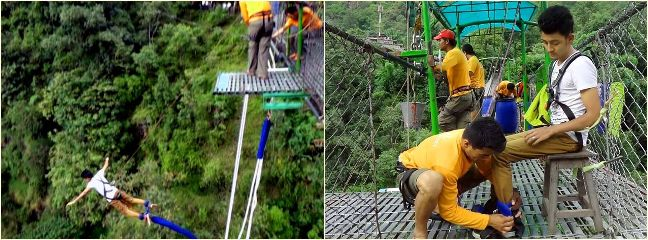 adventure nature nepal travel bungy