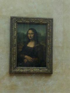 paris louvre museum monalisa