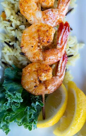 summerfood#fried prawns
