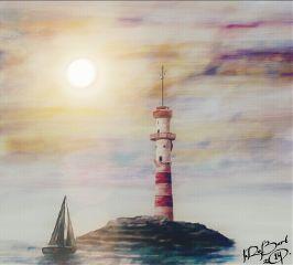 dclighthouse lighthouse art artwork ship