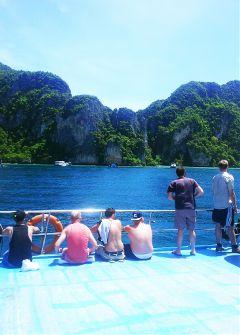 summer beach thailand