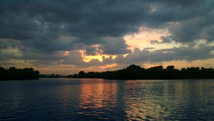 nature photography sunset river moscow