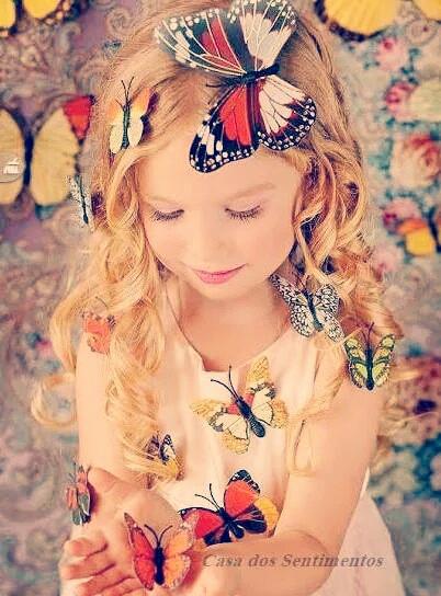 menina das borboletas ♡
