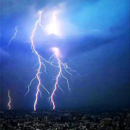 lightning nature photography