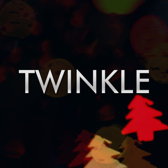 twinkle clipart and background