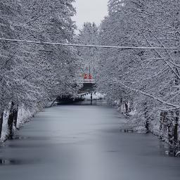 klagenfurt lendkanal wintereinbruch