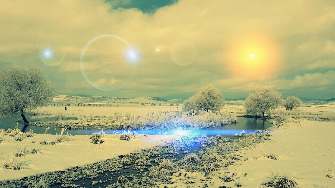 #WAPlensflare  #waplensflare #nature #sun #snow