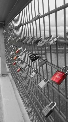 lock color photography