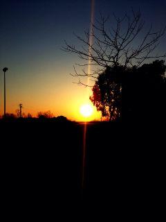 sunset rome italy